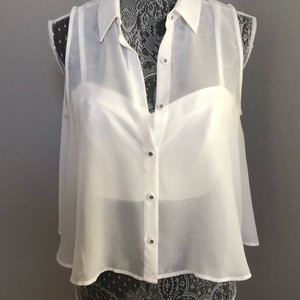 Marciano Button Down Shirt white