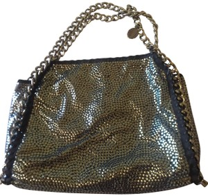 Stella McCartney Rare Exclusive Studded Tote in silver
