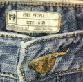 Free People Denim Distressed Sequin Skinny Jeans Size 6 (S, 28) Free People Denim Distressed Sequin Skinny Jeans Size 6 (S, 28) Image 2