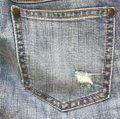 Free People Denim Distressed Sequin Skinny Jeans Size 6 (S, 28) Free People Denim Distressed Sequin Skinny Jeans Size 6 (S, 28) Image 6
