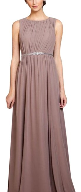 Item - Pecan (Mauve/Brown) Eloise Long Formal Dress Size 8 (M)