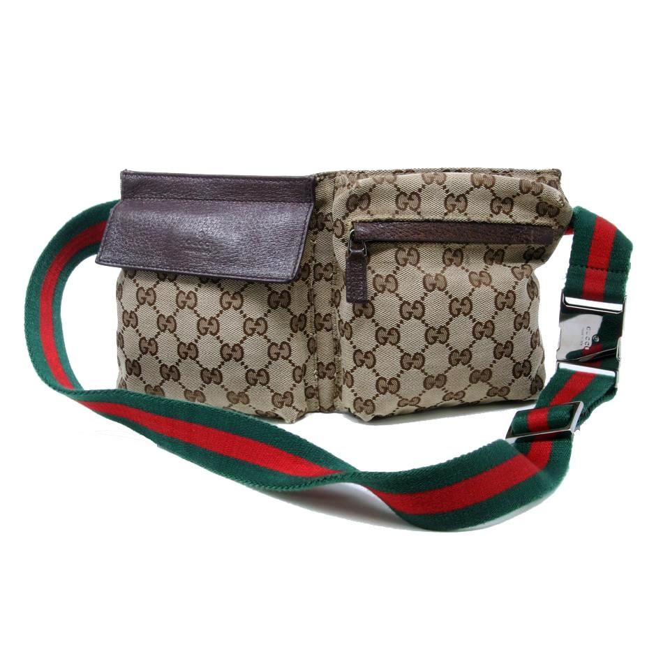 8a5d6474f2f46c Gucci Guccissima Common Sense Rihanna Fenty Supreme Rasta Dark Brown Travel  Bag Image 7. 12345678