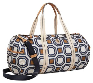 Tory Burch Ivory/Multi Travel Bag