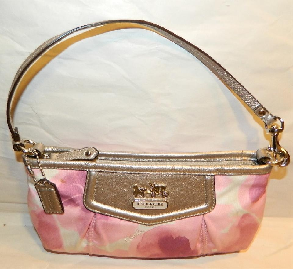 12d03bf049 Coach Madison Large Floral Print Clutch Wristlet~hard To Find ...