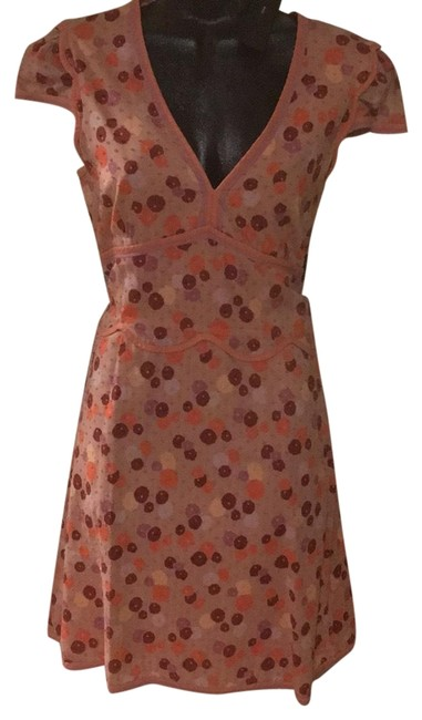 Item - Pink M192656 Mid-length Short Casual Dress Size 8 (M)