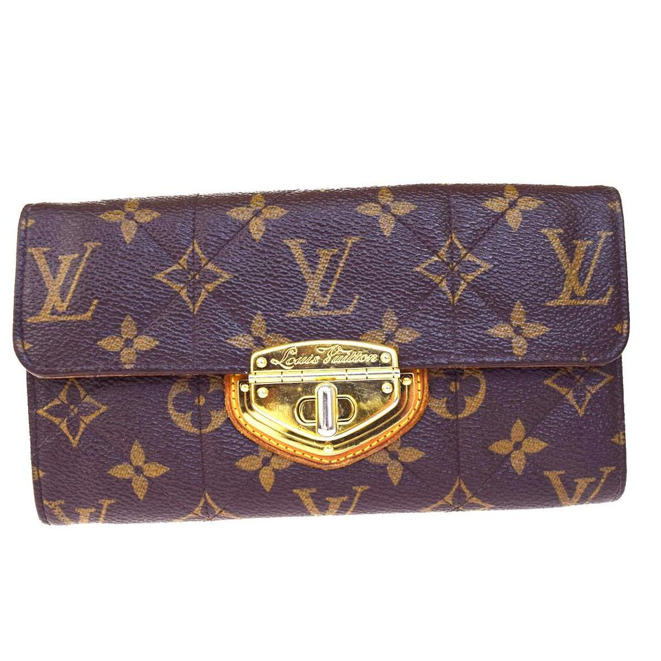 buy online 86dd5 c423f Louis Vuitton Etoile Sarah Long Bifold Monogram M66556 Wallet 70% off retail