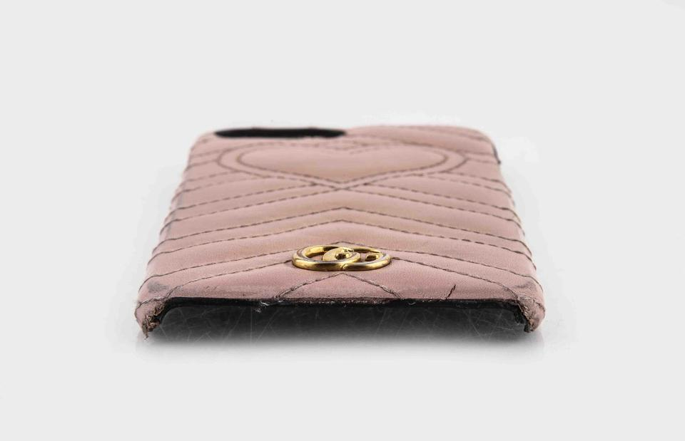 best website 757d4 47e98 Gucci Pink Marmont Gg Iphone 7 Plus Case Tech Accessory 29% off retail