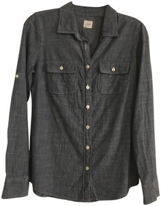 J.Crew Crew Casual Button Down Shirt Chambray