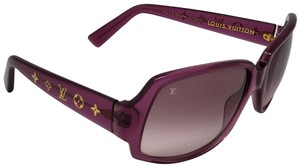 1f3a51df4c31 Louis Vuitton Aborigine acetate Louis Vuitton Obsession Carré sunglasses