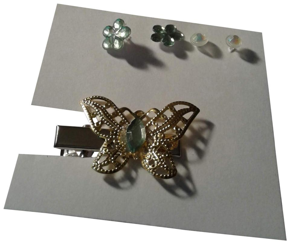 Other Hair Clip And Earrings Jewelry Set