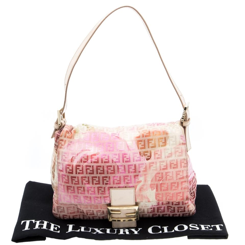 Zucchino Forever Mama Fabric Shoulder Floral Fendi amp; Bag Pink Print Canvas n1UEIx6