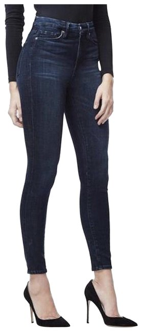Item - Blue Dark Rinse High-waisted Skinny Jeans Size 28 (4, S)