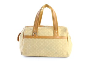 Louis Vuitton Speedy Bowler Alma Bowling Keepall Satchel in Beige
