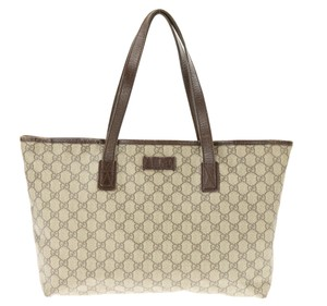 Gucci Gg Canvas East-west Tote in Brown