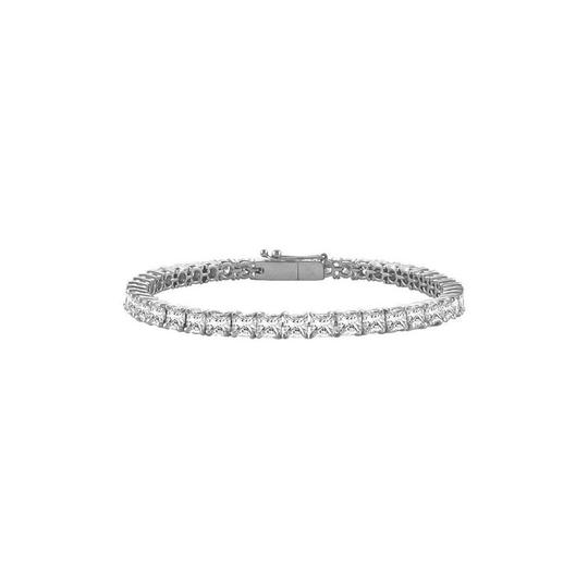 Preload https://img-static.tradesy.com/item/23584773/white-designer-tennis-5ct-princess-cut-cz-tennis-silver-bracelet-0-0-540-540.jpg