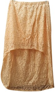 Wet Seal Lace Skirt Peach