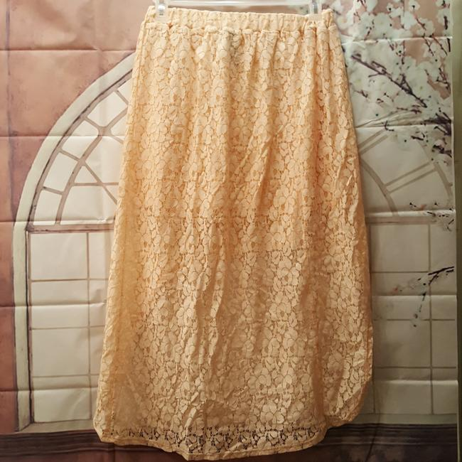 Wet Seal Lace Skirt Peach Image 2