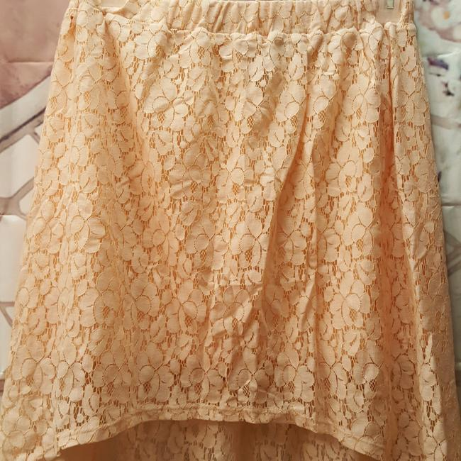 Wet Seal Lace Skirt Peach Image 3