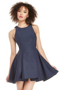 C/meo Collective High Neck Pleated Dress