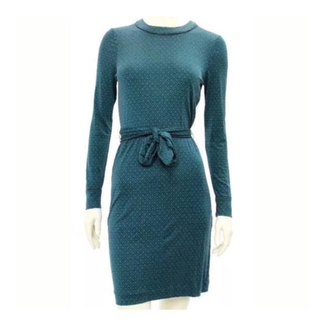 Preload https://img-static.tradesy.com/item/23585749/tory-burch-green-and-navy-silk-long-sleeve-mid-length-workoffice-dress-size-6-s-0-0-650-650.jpg