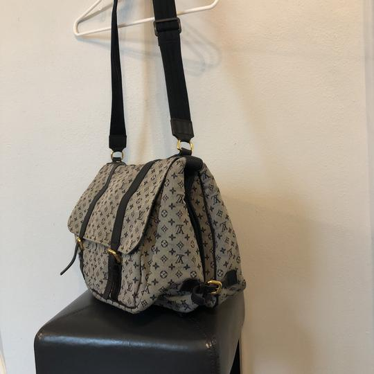 Louis Vuitton navy blue and gray Diaper Bag Image 1