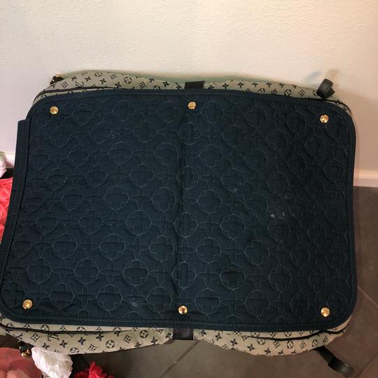 Louis Vuitton navy blue and gray Diaper Bag Image 10
