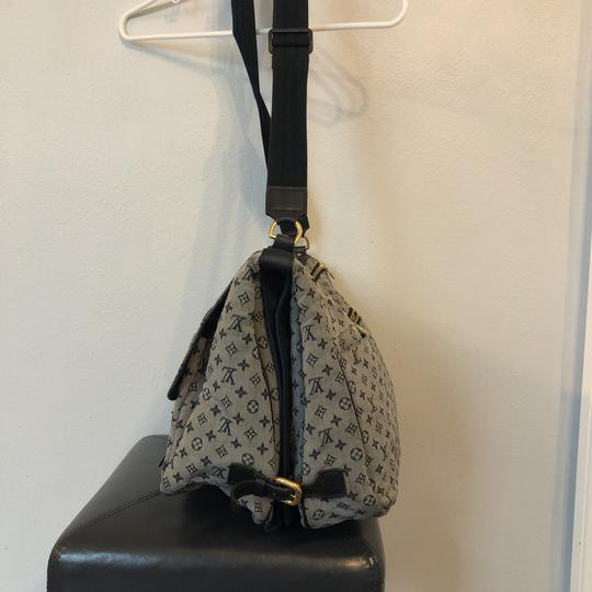 Louis Vuitton navy blue and gray Diaper Bag Image 2