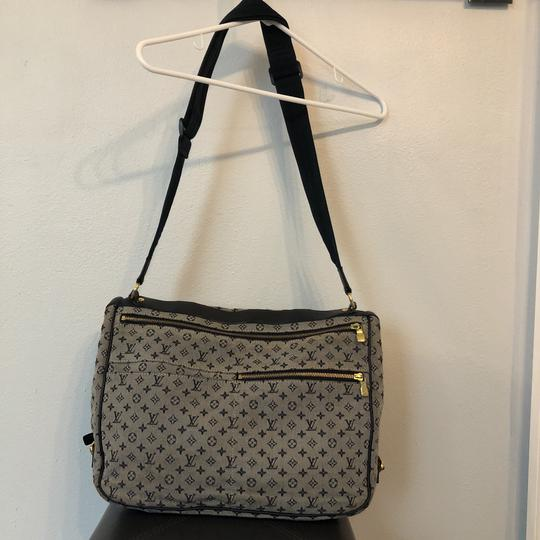 Louis Vuitton navy blue and gray Diaper Bag Image 3