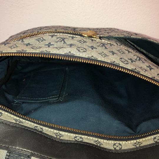 Louis Vuitton navy blue and gray Diaper Bag Image 8