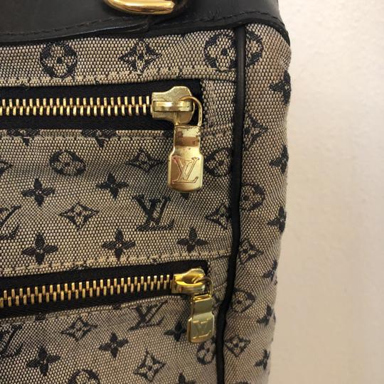 Louis Vuitton navy blue and gray Diaper Bag Image 9