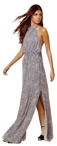 Gray Maxi Dress by The Jetset Diaries