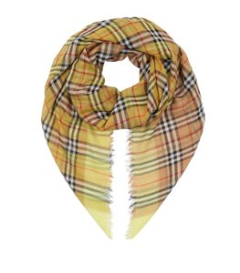 Burberry New Burberry Two-Tone Vintage Check Square Scarf