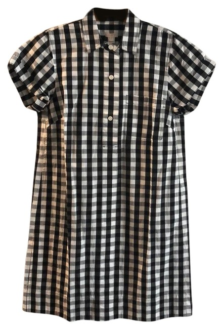 Item - Black and White G5834 Mid-length Work/Office Dress Size 4 (S)