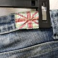 Machine Blue Distressed Rise Skinny Jeans Size 31 (6, M) Machine Blue Distressed Rise Skinny Jeans Size 31 (6, M) Image 10