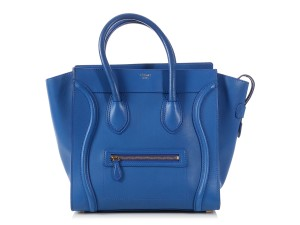 Céline Ce.p0508.11 Top Handle Reduced Price Tote in ROYAL BLUE e668849337
