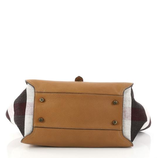 Burberry Leather Satchel in camel Image 4