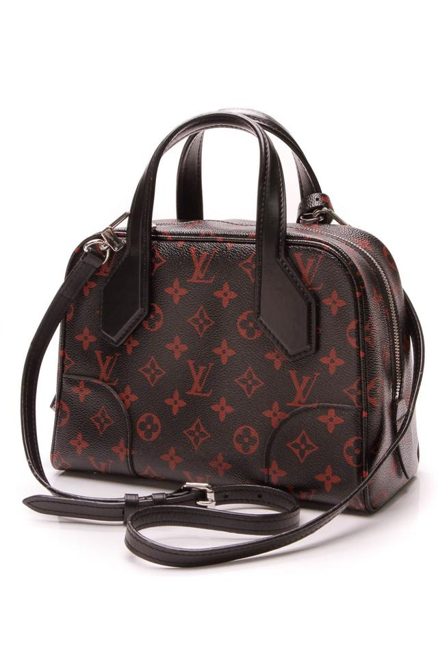 Louis Vuitton Dora Soft Bb - Infrarouge Monogram Black Coated Canvas  Satchel - Tradesy e88d67f331990