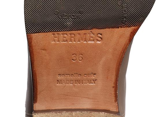 Hermès Hr.p0510.04 Riding Kelly Taupe Tall Etoupe Boots Image 5