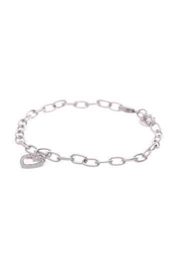 Tiffany Co White Gold Heart Diamond