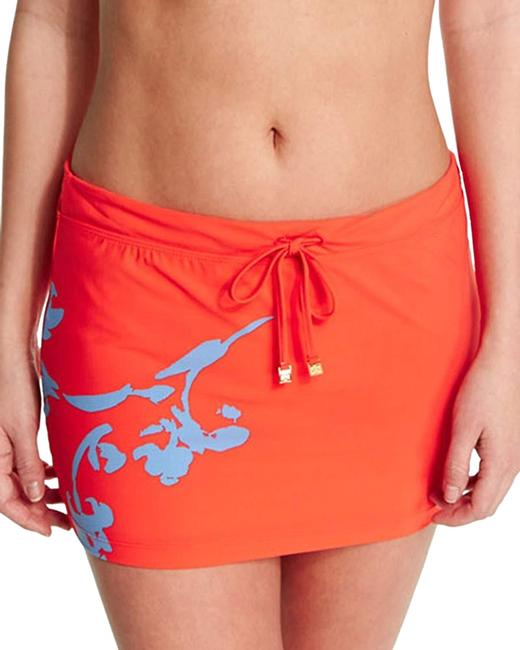Item - Red-orange (Nwt) Talisay Skirt Cover-up/Sarong Size 8 (M)