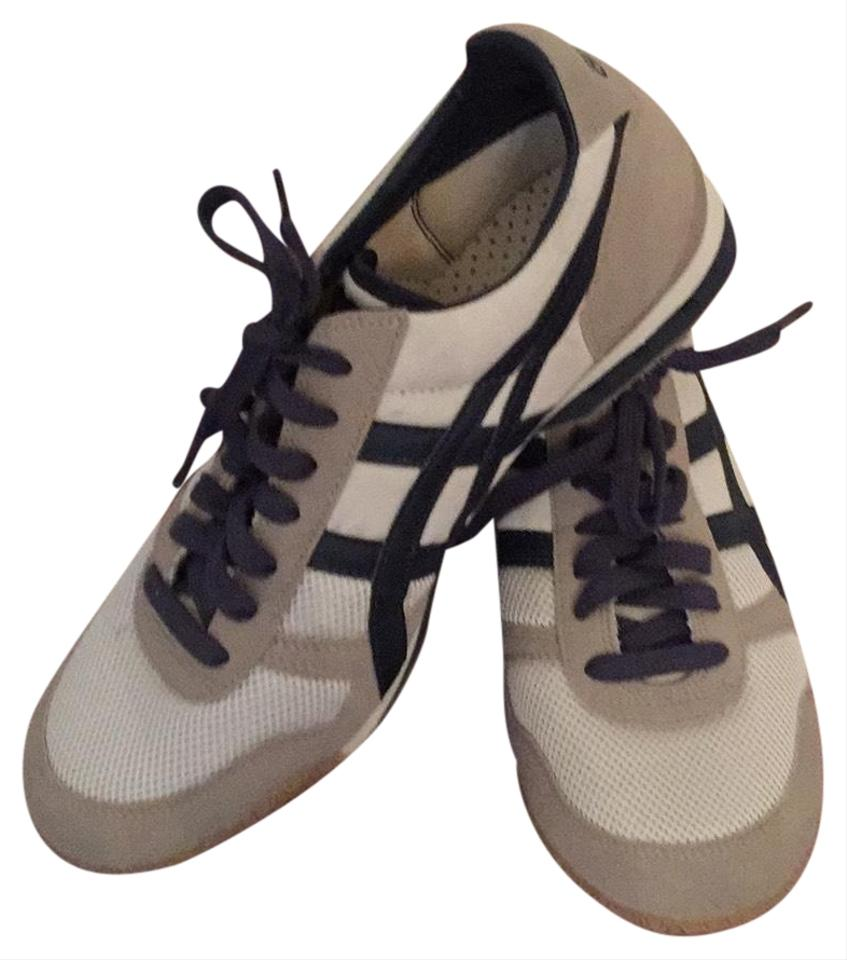 best authentic c76c7 55bc3 Tan/Navy By Asics Sneakers