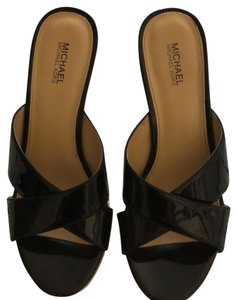 MICHAEL Michael Kors black / beige Wedges