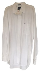Façonnable Button Down Shirt White