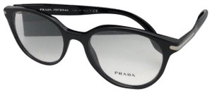 Prada New PRADA JOURNAL Edition Eyeglasses VPR 07T 1AB-1O1 52-19 140 Black F