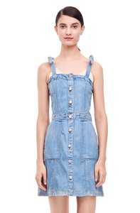 La Vie Rebecca Taylor short dress Denim Overalls on Tradesy