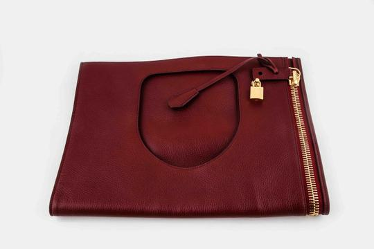 Tom Ford Red Clutch Image 5