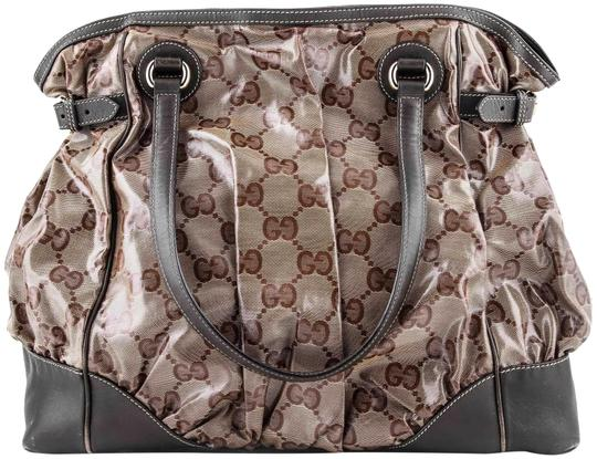 Preload https://img-static.tradesy.com/item/23588182/gucci-gg-crystal-mix-monogram-brown-coated-canvas-tote-0-1-540-540.jpg