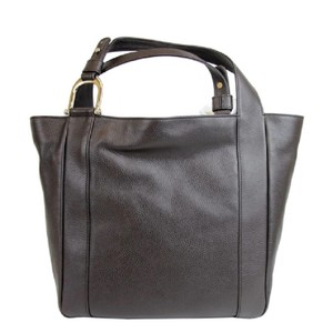 Gucci Greenwich Leather Tote in brown