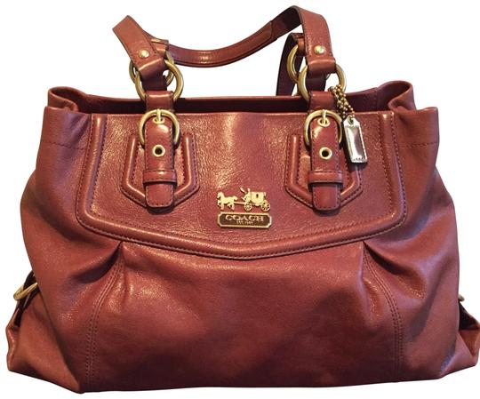 Preload https://img-static.tradesy.com/item/23588313/coach-handbag-brown-leather-tote-0-1-540-540.jpg