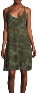 ATM Anthony Thomas Melillo short dress camo print on Tradesy